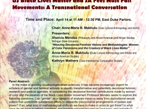 Feminist Visions and Activist Dilemmas of the US Black Lives Matter and SA Fees Must Fall Movements:  A Transnational Conversation