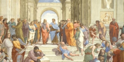 School of Athens illustration