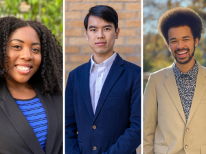 Three Undergraduates Named Faculty Scholars for Outstanding Records of Research